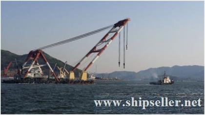 600TON FLOATING CRANE FOR SALE(SDM-FC-190)