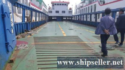 280PAX / 40SEDAN RORO PASSENGER SHIP FOR SALE(SDM-CF-205)