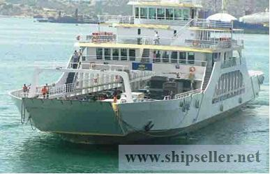 DOUBLE ENDED -DAY PAX/CAR FERRY FOR SALE
