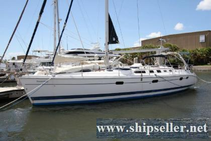46' Hunter 466 bow thruster 2002