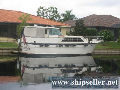 43' Hatteras Motor Yacht