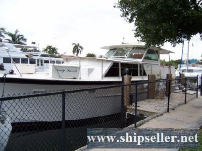 44' Hatteras Motor Yacht