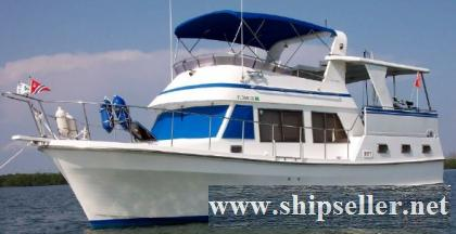 38' Marine Trader Tradewinds Sundeck Trawler
