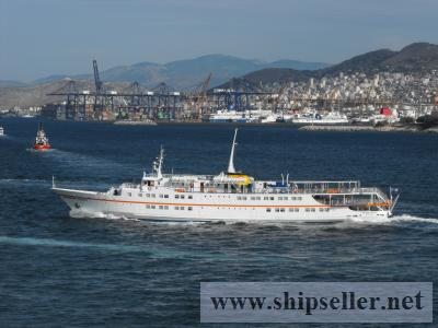 WELL MAINTAINED DAY CRUISE VESSEL FOR SALE BUILT 6/1972 DAY PAX  760 SUMMER/713 WINTER