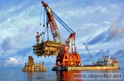 100t to 5000t floating crane 100 ton to 5000 ton crane barge