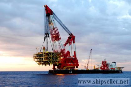 100 ton to 5000 ton floating crane 100t to 5000t crane barge