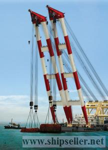 supply crane barge 100t to 5000t floating crane 100 ton to 5000 ton