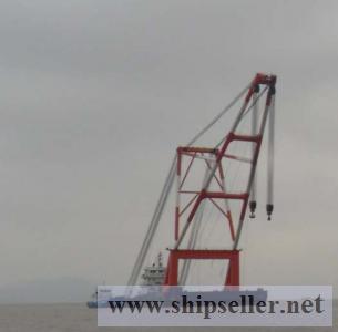 1000t crane barge $9million 1000 ton floating crane vessel