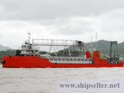 Cable laying vessel cable laying barge Cable Retriever Layer barge rent sell charter