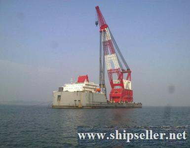 floating crane 3000t crane barge 3000ton for sale price 50million