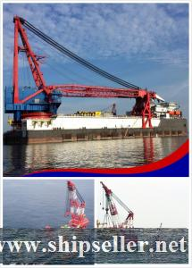 Derrick Pipelay vessel sale & rent charter buy derrick pipe laying barge cheap pipelaying barge vessel  purchase sell