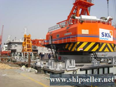 sell japan skk grab dredger 35cbm 36cbm 40cbm clamshell dredger 35m3 36m3 40m3 cheap