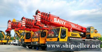 used sany mobile crane truck crane 50t 25t 20t 55t 65t 70t 75t 80t 90t sany 100t 120t 200t 50 ton 25