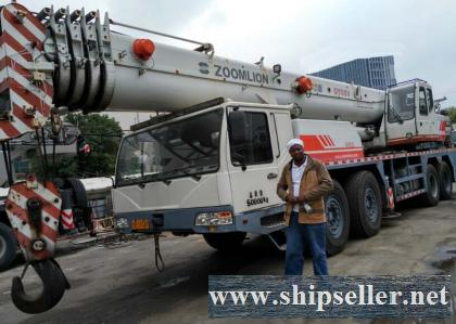 buy used crane in Cote d'Ivoire Djibouti Egypt Equatorial Guinea mobile crane truck crane sale sell