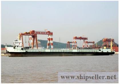 2,300 CBM Self Propellered Barge For Sale