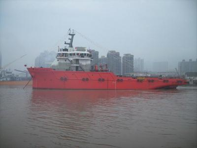 8000hp anchor, handling and supply vessel