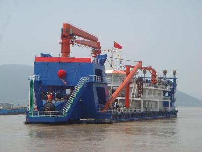 3500 cubic meter unself-propelled cutter suction dredger