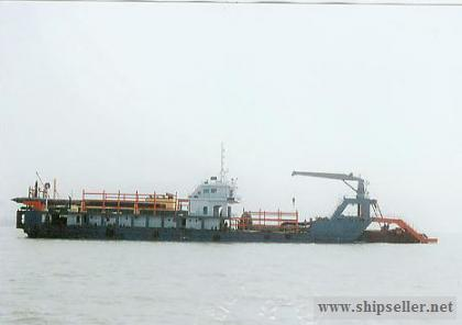 2500 cubic meter Self-propelled cutter suction dredger