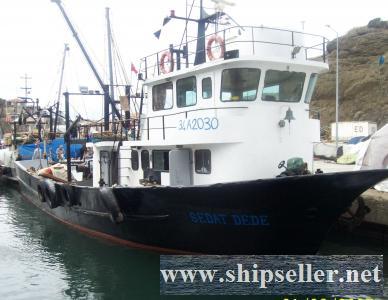 TRAWLER FISHING VESSEL FOR SALE TURKEY BLT 1997