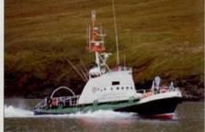 A Work boat/ A crew boat