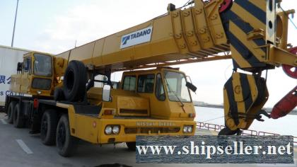 kenya used tadano crane kato crane sell buy Nairobi used crane mombasa mobile crane truck crane for