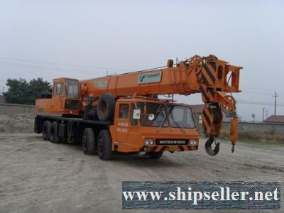 Buy sell used crane used tadano crane kato crane in Africa mobile crane truck crane hydraulic crane