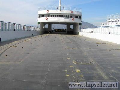 DAY PASSENGER/CAR-TRUCK LANDING CRAFT TYPE FERRY SUITABLE TO CARRY TRUCKS & CONTAINERS