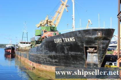 Sea freight cargo ship