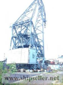 159. Not self-propelled Floating crane – 100 t.