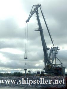251. Not self-propelled floating crane