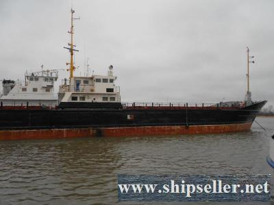 150-3. Dry cargo sea-river ship STK type, 1900 t.