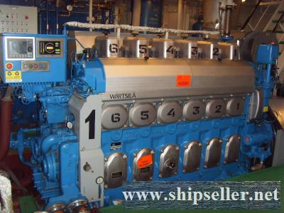 227. Two Main Engines WARTSILA 6L20 with revers-reduction gears WAF 842