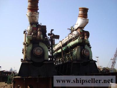 Sale of Pielstick Engines and Genuine Spare Parts at www.maritimepart.com