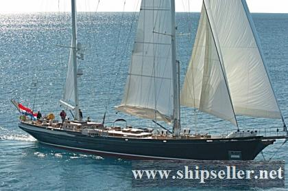 Ketch Sailing Yacht 114ft.
