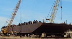 180 ft x 60 ft Barge