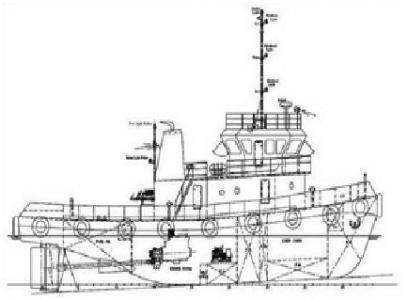 4 units of 26.2 m 1634HP Tug Boat