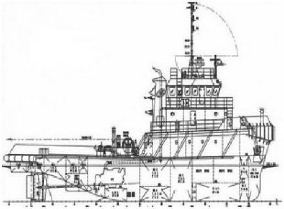 33.2 m 3200HP Tug Boat