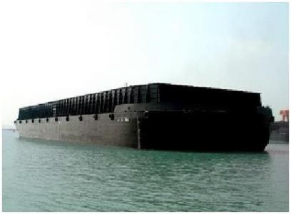 3 units of 300 ft x 80 ft x 18 ft Dumb Barges