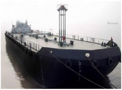 2 units of 230 ft 3750m3 Oil Barges