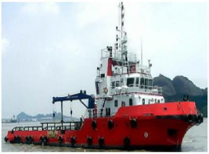 45 m 3200HP Utility Support Vessel