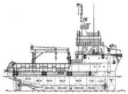 59.25 M Subsea Support Vessel