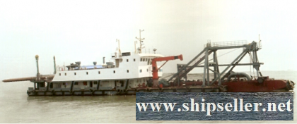 2Units 1980Blt, Class CCS, 1250CBM Non-propelled Cutter Suction Dredger for Sale