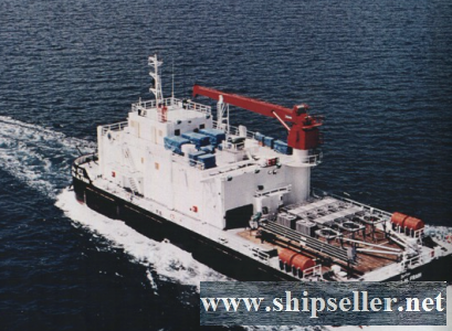 1984Blt,Class ABS Non self propelled Crane Barge For Sale
