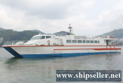 1996Blt,Class KR,192pax FRP Catamaran Fast Ferry for Sale