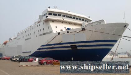 1992Blt, Class CCS, 1162Pax RoRo Car/Passenger for Sale