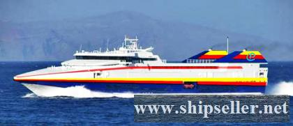 1996Blt,Class BV, 574Pax Passenger Car Ferry for Sale