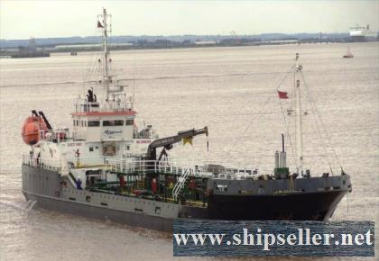 2007Blt,Class BV,1561DWT Small Oil Tanker for Sale