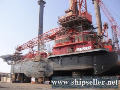 New Blt,2700t Self Elevating Mobile Offshore Unit for Sale