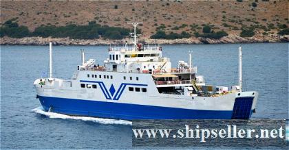 1987Blt,Class RINA, 750Pax RoRo Passenger Ferry for Sale
