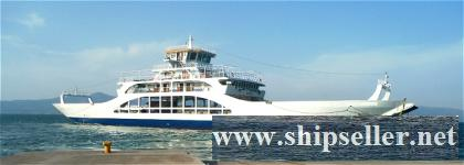 2007Blt,191 Cars Double Ended Passenger Ferry for Sale